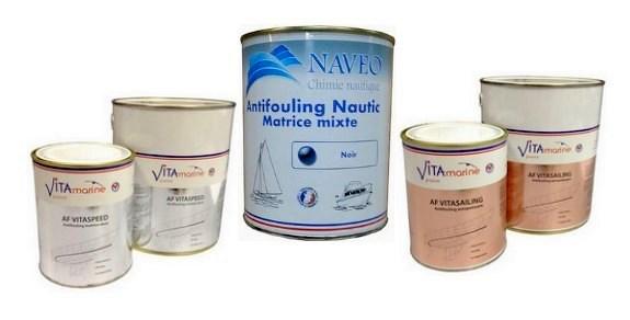 Antifouling Vitasailing et Naveo