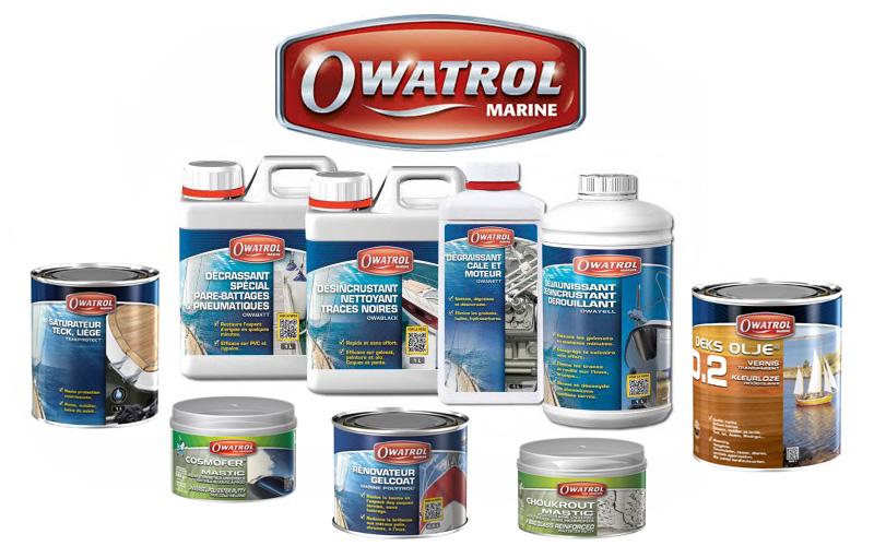 Produits d'entretien gamme OWATROL