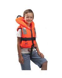 Gilet Typhon, 5 à 8 ans, Orange uni