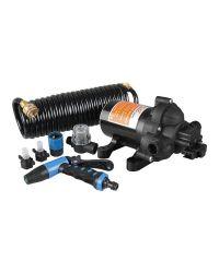 Kit de lavage haute pression - 12 V - avec tuyau - En blister