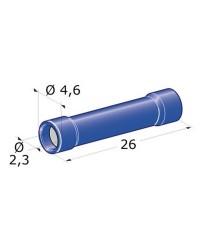 Jonction femelle 1-2.5 mm²