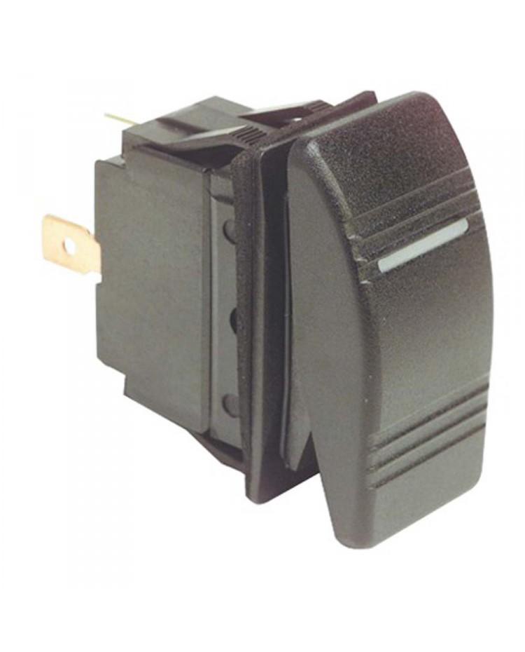 Interrupteur à bascule Marina bipolaire - ON-OFF-ON - avec bascule