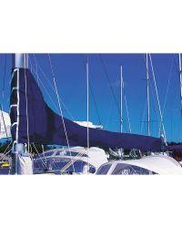 Housse de grand voile - Bleu royal - Longueur de bome 3,55 m