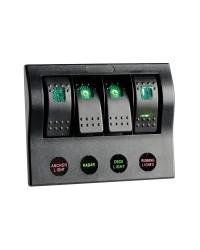 Tableau électrique série PCP Compact 4 interrupteurs