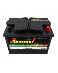 Batterie de servitude - 12V - C20 80Ah - C5 60Ah - 277 x 175 x 190 mm