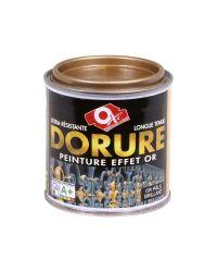 Peinture aspect métal - dorure or pale - 125 ml