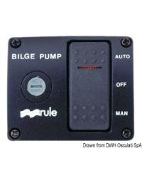 Interrupteur Rule DeLux p. pompes de cale 12 V