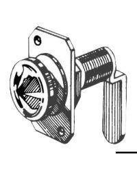 Batteuse à rotation laiton nickelé 16 mm