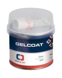 Gelcoat double composant, blanc, brillant - 200g
