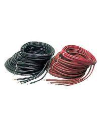 Câble de batterie extra souple - 90 mm² - noir - Bobine de 24 M