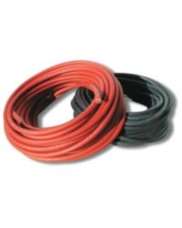 Câble électrique souple - HO7V-K - 1.5 mm² - noir - Bobine de 10 M
