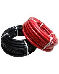 Câble électrique souple - HO7V-K - 6 mm² - noir - Bobine de 10 M