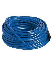 Câble d'alimentation électrique - bleu - 3 x 6 mm²