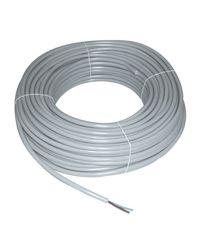 Câble multi-conducteur souple HO5VV-F - 2 X 1 mm² - gris - Bobine de 50 M