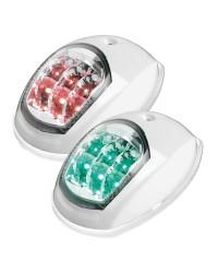 Feu de navigation LED Evoled - pour paroi - blanc - rouge 112,5 ° & vert 112,5°