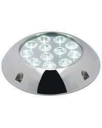 Projecteur sous-marin 60W 12 LED blanc, goujon