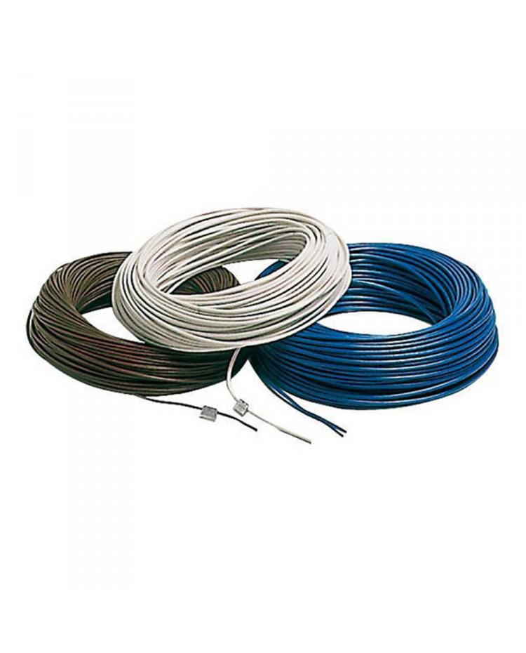 Câble électrique unipolaire - 6 mm² noir - le mètre