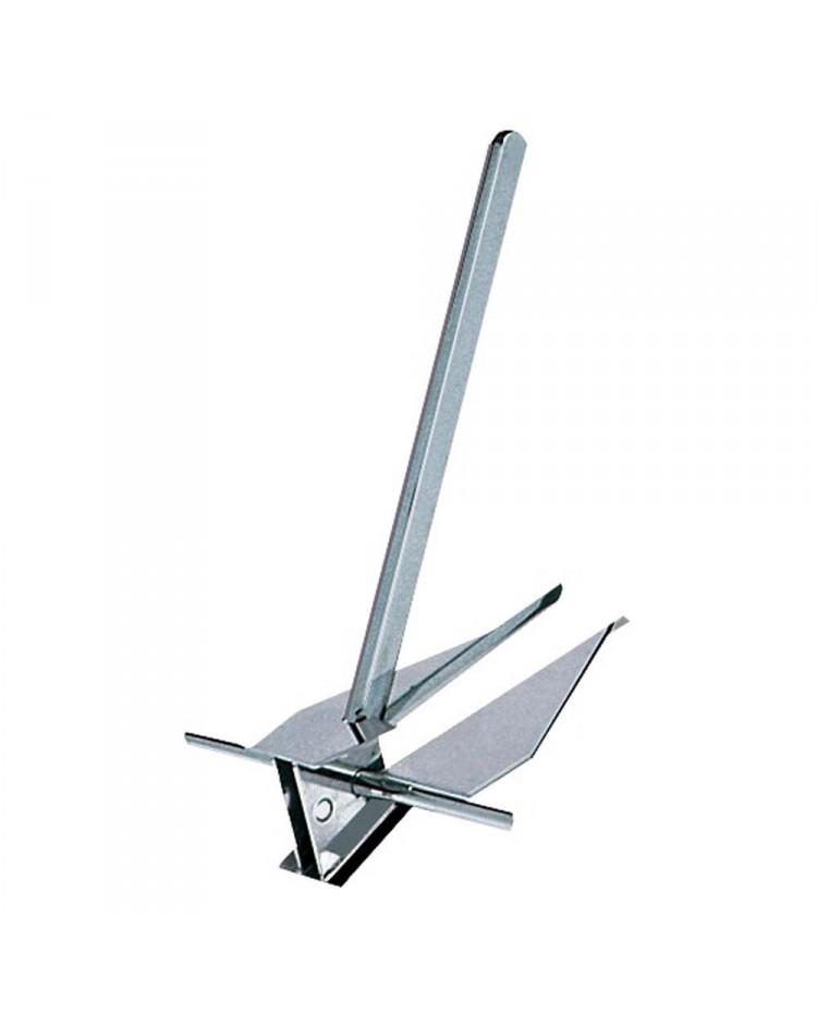 Ancre type Danforth - inox - 12 kg