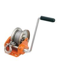 Treuil manuel avec arrêt automatique - 900 kg - avec cable acier de 10 M