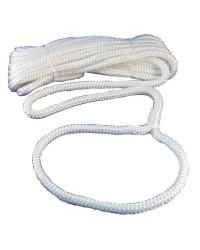 Cordage - amarre avec oeil - ø14 mm - 9 M - blanc