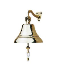 Cloche bronze poli - 150 mm