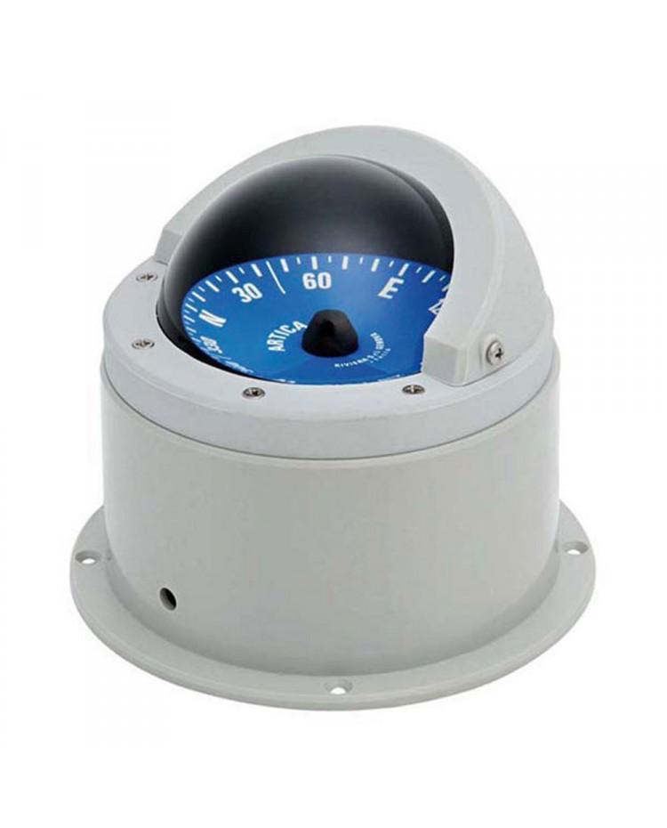Compas Vega bleu et gris avec habitacle - 2''3/4 - 72 mm
