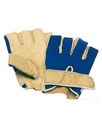 Gants nylon/cuir - la paire XL