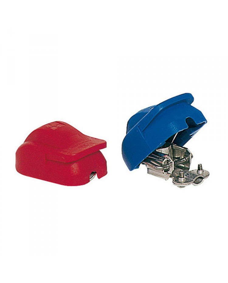 Cosses de batterie inox automatique - la paire