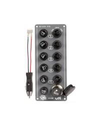 Tableau électrique Grey - 5 inters
