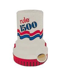 Pompe Rule 1500 - 6000 l/h - 12V