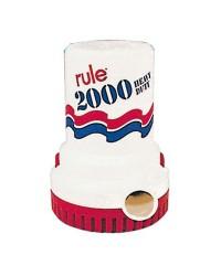 Pompe Rule 2000 - 8100 l/h - 12V