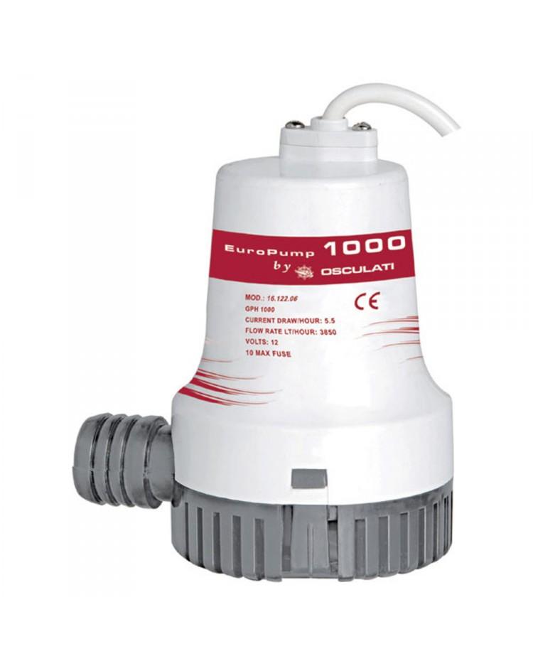 Pompe de cale centrifuge 1000 - 3840 l/h - 12V