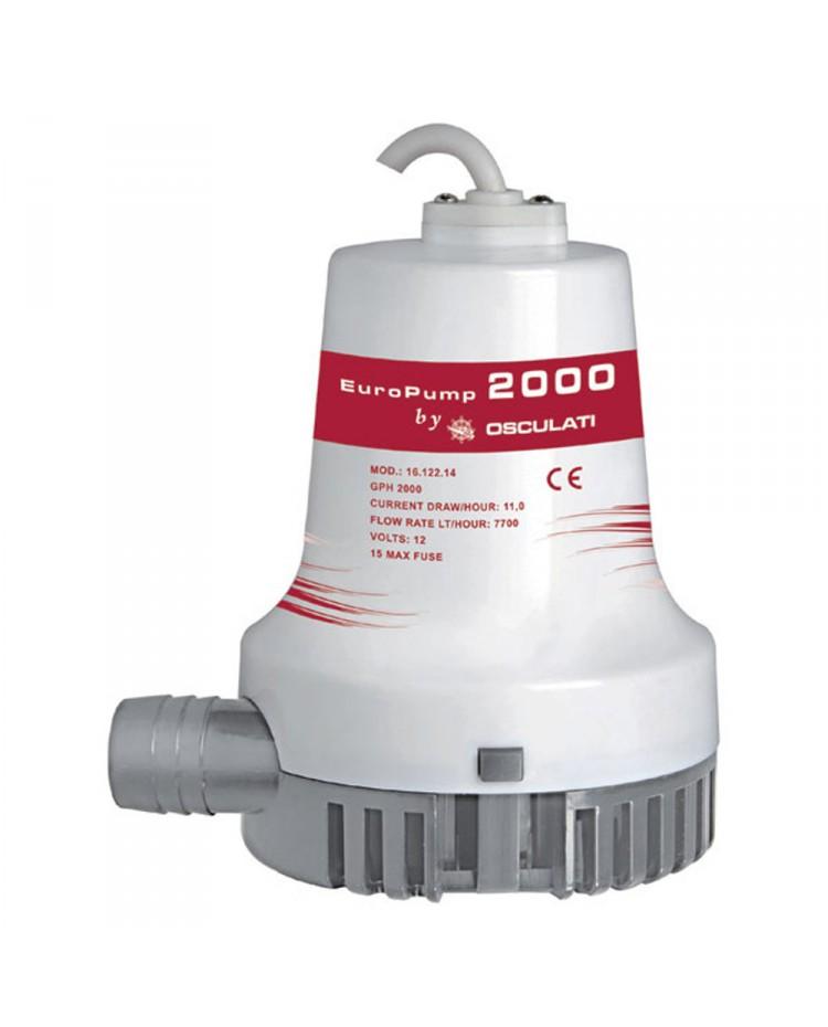 Pompe de cale centrifuge 2000 - 7680 l/h - 24V