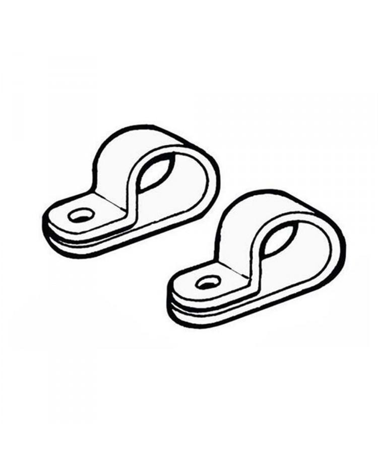 Collier de fixation nylon - ø13 mm