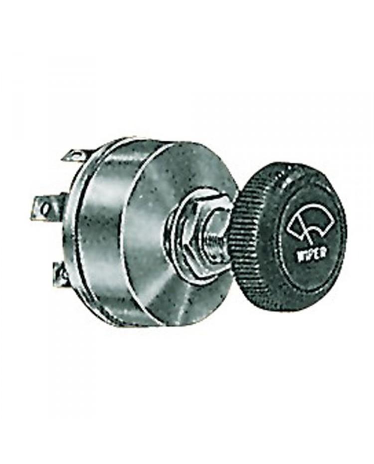 Interrupteur pour essuie glace 12V 2 vitesses