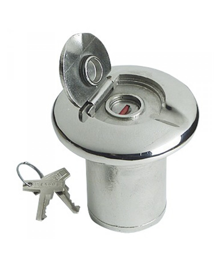 Nable de réservoir inox WATER 38 mm - avec serrure