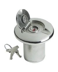 Nable de réservoir inox FUEL 38 mm - avec serrure