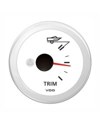 Indicateur TRIM - Blanc - 12 v