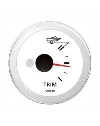 Indicateur TRIM - Blanc - 12 v