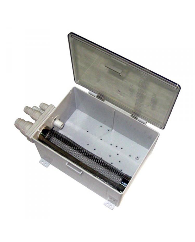 Boitier pompe de douche avec collecteur eaux usées - sans pompe