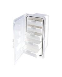 Coffre boite de rangement 364 x 183 mm - avec 5 tiroirs