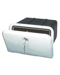Coffre boite de rangement 285 x 180 mm - avec serrure
