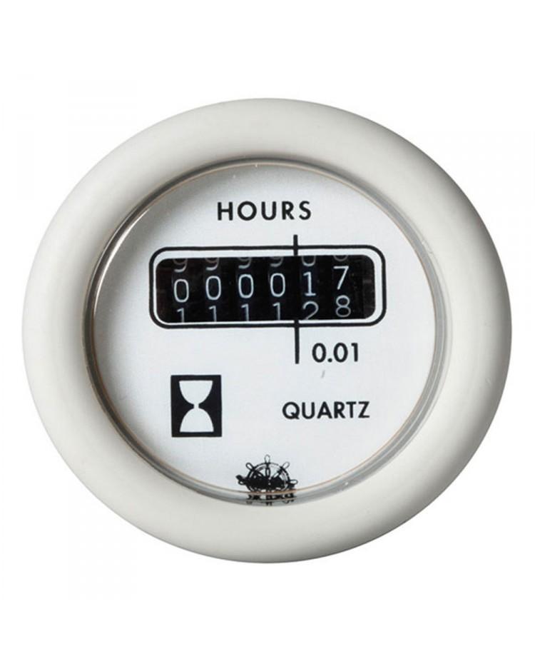 Horamètre 24V - blanc