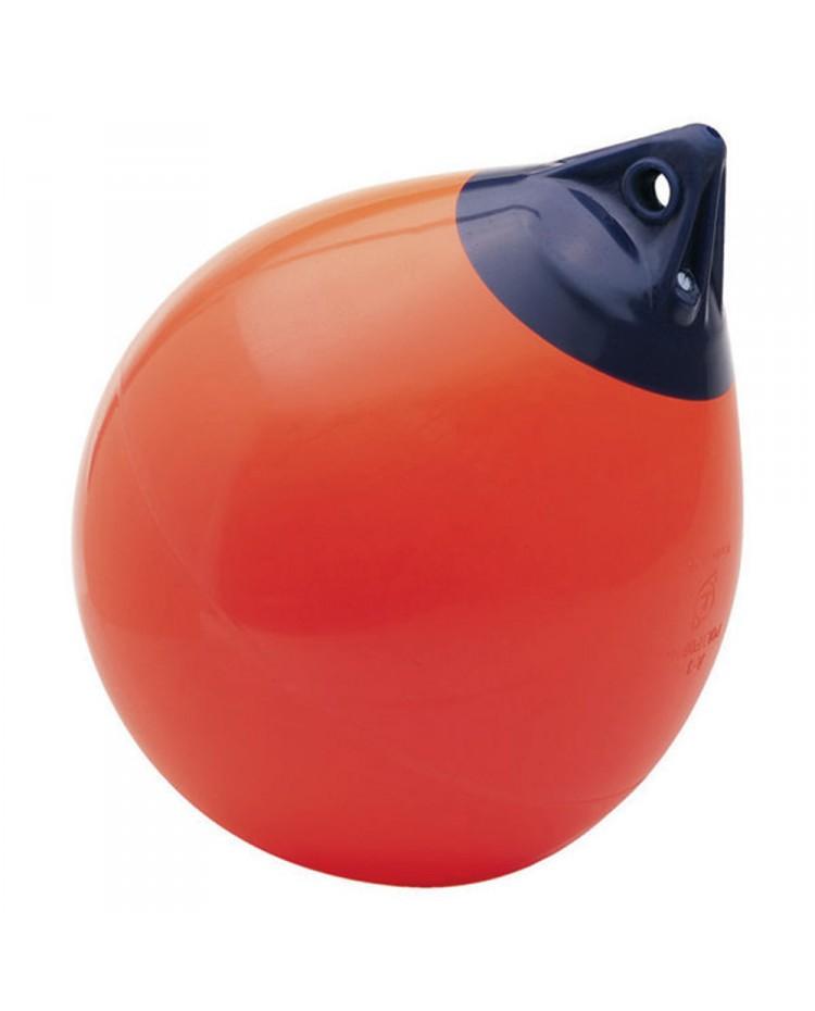 Pare-battage A4 rouge - ø55 cm