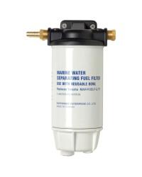 Filtre gasoil avec décanteur aluminium - 206 l/h - 30 mn