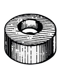 Anode rondelle hors bord Ø21x10 mm zinc