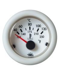 Indicateur de température d'huile 12V - blanc