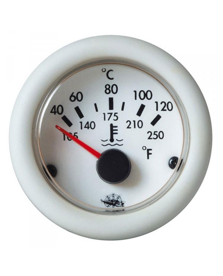 Indicateur de température d'huile 24V - blanc