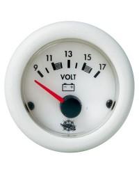Voltmètre 2032V - blanc 20/32V - blanc