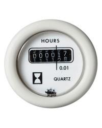 Horamètre 12V - blanc